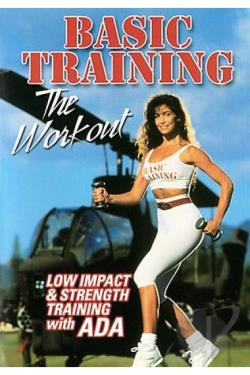 Basic Training With Ada: Low Impact & Strength Training Workout DVD Cover Art