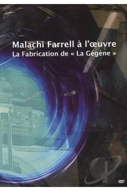 Malachi Farrell At Work: The Making Of La Gegene DVD Cover Art