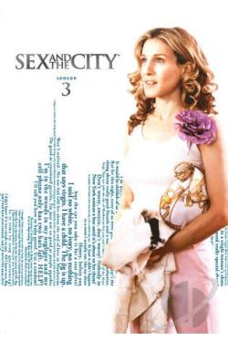Sex and the City - The Complete Third Season DVD Cover Art