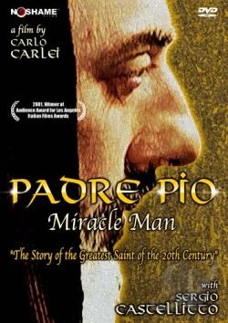 Padre Pio - Miracle Man DVD Cover Art