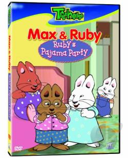 Max And Ruby - Rubys Pajama Party (Eng/Frn/6 DVD Cover Art