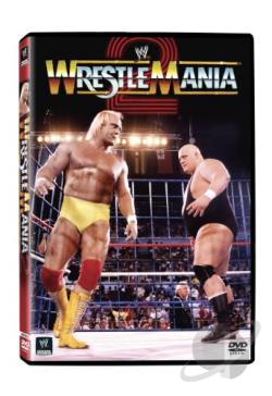 WWF - WrestleMania 2 DVD Cover Art