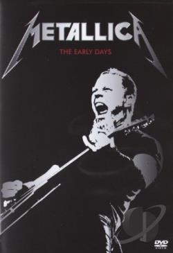 Metallica: The Early Days DVD Cover Art