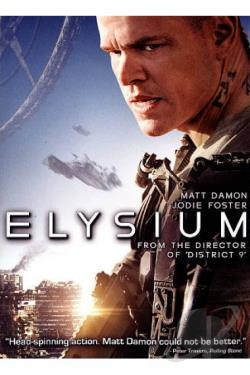 Elysium DVD Cover Art