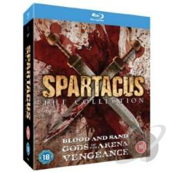Spartacus Collection:Gods Of The Arena/Blood & San BRAY Cover Art