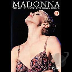 Madonna - The Girlie Show - Live Down Under DVD Cover Art
