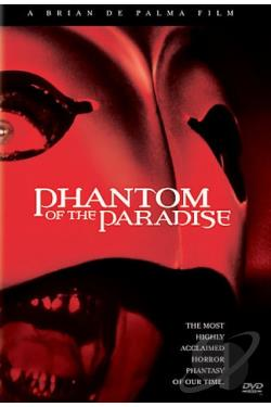 Phantom of the Paradise DVD Cover Art