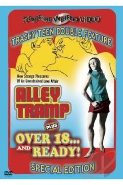 Alley Tramp & Over 18 & Ready DVD Cover Art