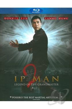 Ip Man 2: Legend of the Grandmaster BRAY Cover Art