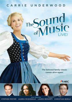 Sound of Music Live! DVD Cover Art