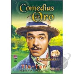 Comedias de Oro Tin Tan, Vol. 3 DVD Cover Art
