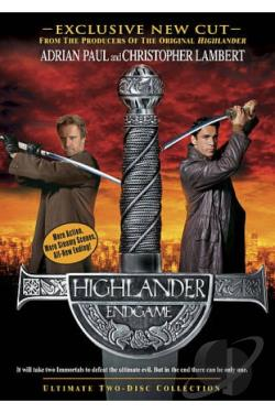 Highlander: Endgame DVD Cover Art