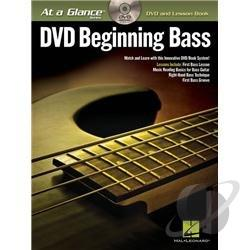 At a Glance Series: DVD Beginning Bass DVD Cover Art