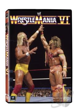 WWF - WrestleMania 6 DVD Cover Art