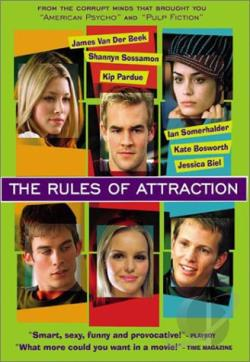 Rules of Attraction DVD Cover Art