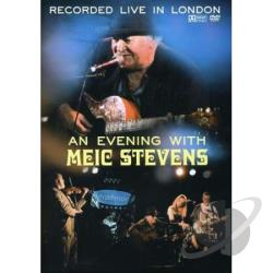 Evening With Meic Stevens DVD Cover Art