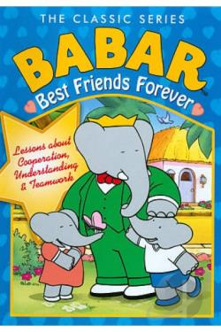 Babar: Best Friends Forever DVD Cover Art