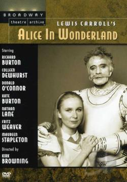 Alice in Wonderland DVD Cover Art