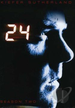 24 - The Complete Second Season DVD Cover Art