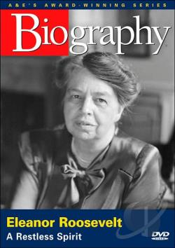 Biography: Eleanor Roosevelt DVD Cover Art