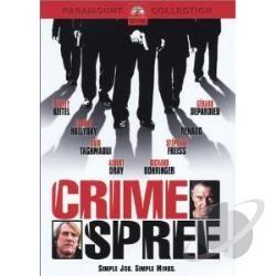 Crime Spree DVD Cover Art