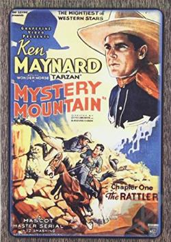 Mystery Mountain DVD Cover Art