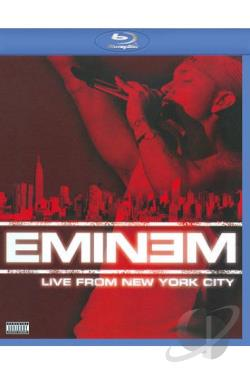 Eminem - Live from New York City 2005 BRAY Cover Art