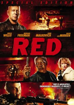 Red DVD Cover Art