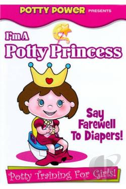 I'm a Potty Princess: Potty Training for Girls! DVD Cover Art