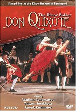 Don Quixote - The Kirov Ballet DVD Cover Art