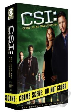 CSI - Crime Scene Investigation - The Complete Fifth Season DVD Cover Art