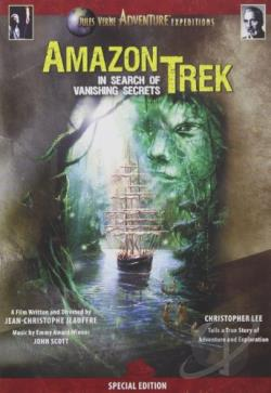 Amazon Trek: In Search of Vanishing Secrets DVD Cover Art