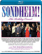 Sondheim!: The Birthday Concert BRAY Cover Art