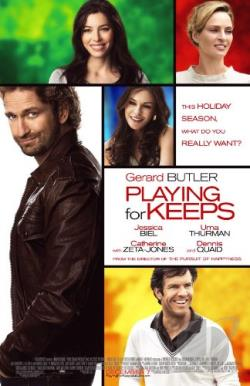 Playing for Keeps DVD Cover Art