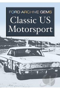 Ford Archive Gems: Classic US Motorsport DVD Cover Art