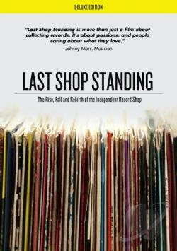 Last Shop Standing: The Rise, Fall, and Rebirth of the Independent Record Shop DVD Cover Art