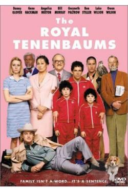 Royal Tenenbaums DVD Cover Art