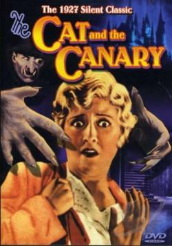 Cat and the Canary DVD Cover Art