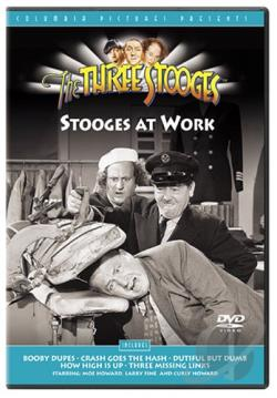 Three Stooges - Stooges At Work DVD Cover Art