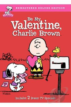 Be My Valentine, Charlie Brown DVD Cover Art