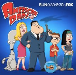 American Dad, Vol. 7 DVD Cover Art