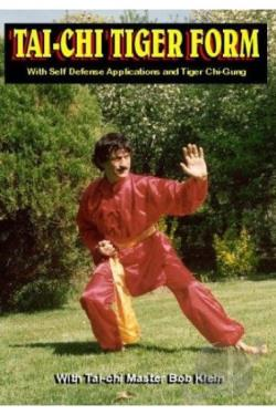 Tai-Chi Tiger Form DVD Cover Art