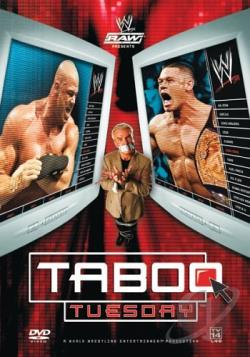 WWE - Taboo Tuesday 2005 DVD Cover Art