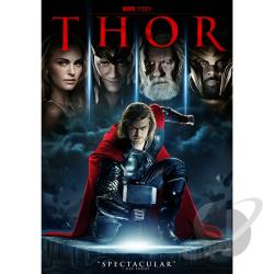 Thor DVD Cover Art