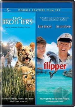 Flipper/Two Brothers Double Feature DVD Cover Art