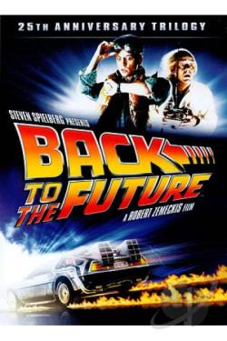 Back to the Future Trilogy DVD Cover Art