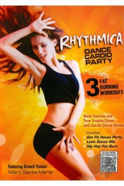 Rhythmica: Dance Cardio Party DVD Cover Art