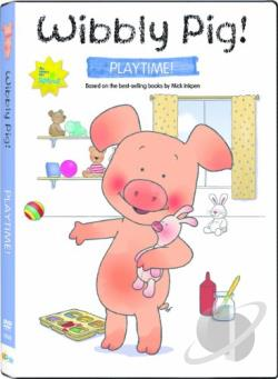 Wibbly Pig: Playtime With Wibbly DVD Cover Art