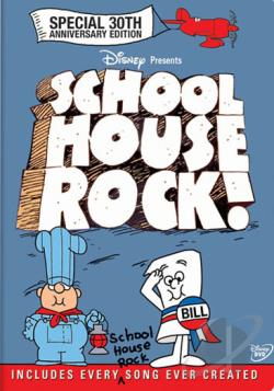 Schoolhouse Rock!: The Ultimate Collector's Edition DVD Cover Art