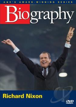 Biography: Richard Nixon - Man and President DVD Cover Art
